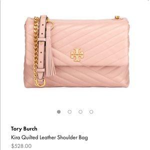 Tory Burch Kira chevron shoulder bag